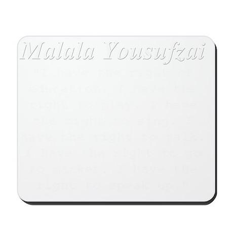 malalas rights w Mousepad