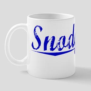 Snodgrass, Blue, Aged Mug