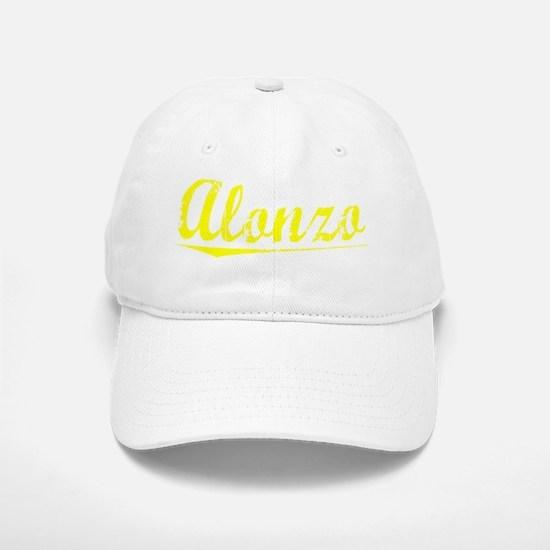 Alonzo, Yellow Baseball Baseball Cap