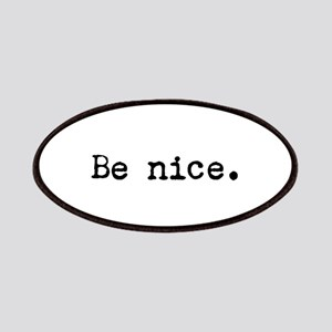 Be Nice Patches