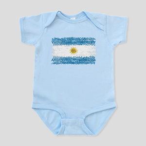 Textual Argentina Infant Bodysuit