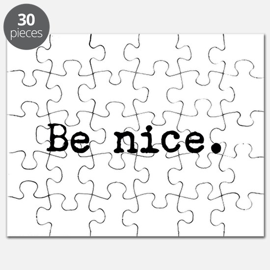 Be Nice Puzzle