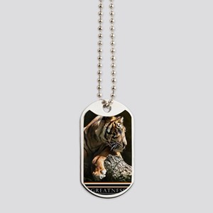Greatness Motivational Poster 23x35 Dog Tags