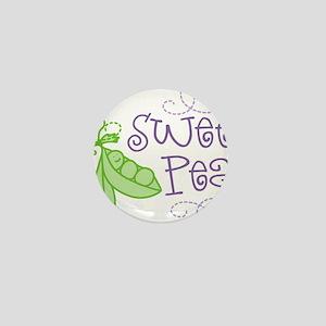 Sweet Pea Mini Button