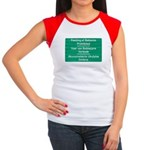 Don't feed the baboons! Women's Cap Sleeve T-Shirt