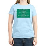 Don't feed the baboons! Women's Light T-Shirt