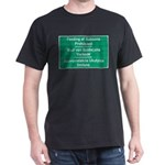 Don't feed the baboons! Dark T-Shirt
