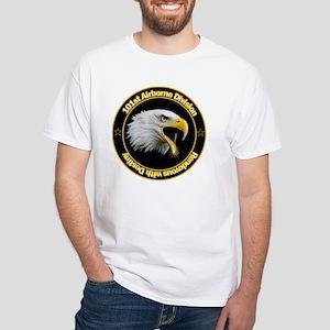 101st Airborne White T-Shirt
