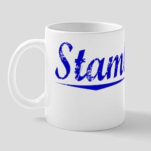 Stambaugh, Blue, Aged Mug