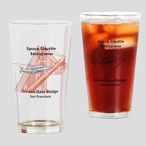 SF_8In12_Endeavour_GoldenGateBridge Drinking Glass
