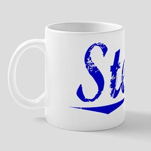 Steves, Blue, Aged Mug