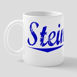 Steinberg, Blue, Aged Mug