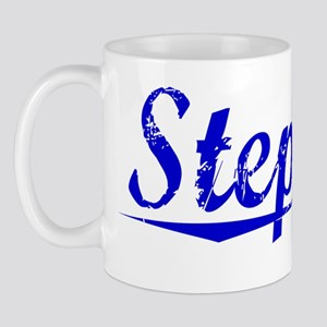 Stephan, Blue, Aged Mug