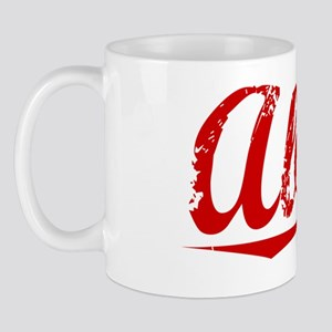 Abbott, Vintage Red Mug
