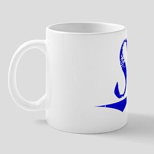 Stitt, Blue, Aged Mug
