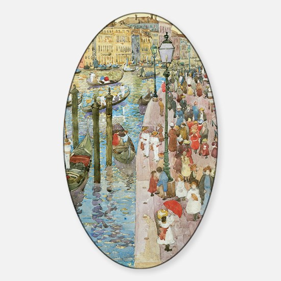 Maurice Prendergast Venice Grand Ca Sticker (Oval)