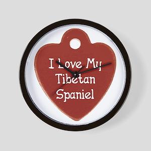 Love My Tibbie Wall Clock