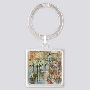 Maurice Prendergast Venice Grand C Square Keychain