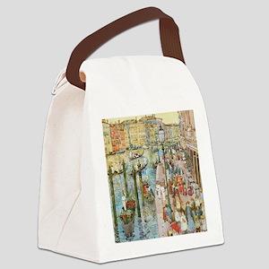 Maurice Prendergast Venice Grand  Canvas Lunch Bag