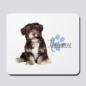 Havanese Puppy Mousepad