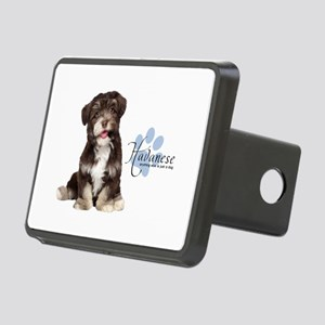 Havanese Puppy Rectangular Hitch Cover