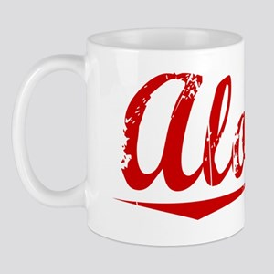 Alonzo, Vintage Red Mug