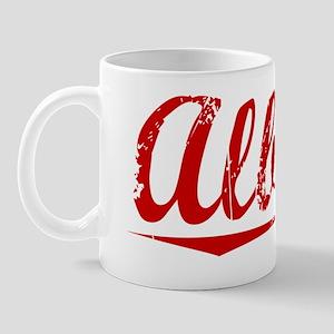 Alberto, Vintage Red Mug