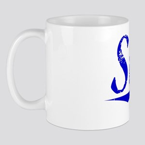 Swift, Blue, Aged Mug