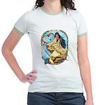 Hummingbird Dreamcatcher Jr. Ringer T-Shirt