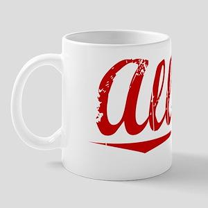 Allsup, Vintage Red Mug