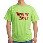 Hot in the Zipper Green T-Shirt