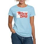 Hot in the Zipper Women's Light T-Shirt