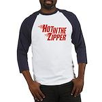 Hot in the Zipper Baseball Jersey