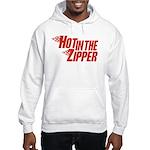 Hot in the Zipper Hooded Sweatshirt
