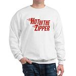 Hot in the Zipper Sweatshirt