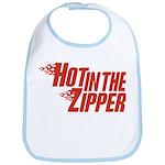Hot in the Zipper Bib