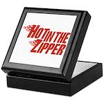 Hot in the Zipper Keepsake Box