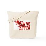 Hot in the Zipper Tote Bag