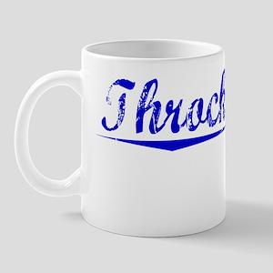 Throckmorton, Blue, Aged Mug