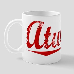 Atwater, Vintage Red Mug