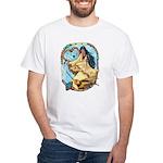 Hummingbird Dreamcatcher White T-Shirt