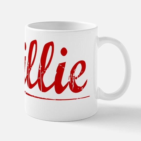 Baillie, Vintage Red Mug