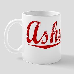 Ashworth, Vintage Red Mug