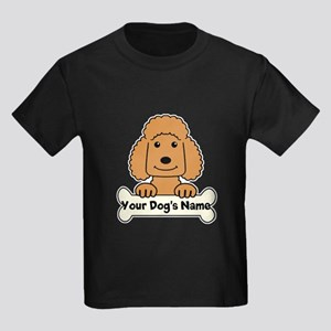 Personalized Poodle Kids Dark T-Shirt