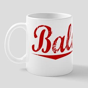 Balducci, Vintage Red Mug