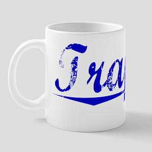 Trapani, Blue, Aged Mug