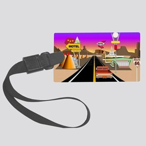 Get your kicks on Route 66 Large Luggage Tag
