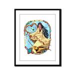 Hummingbird Dreamcatcher Framed Panel Print