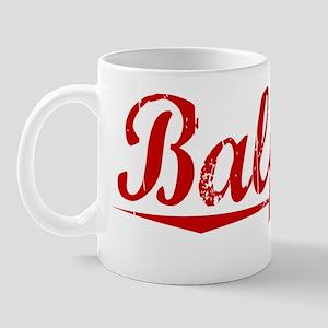 Balfour, Vintage Red Mug