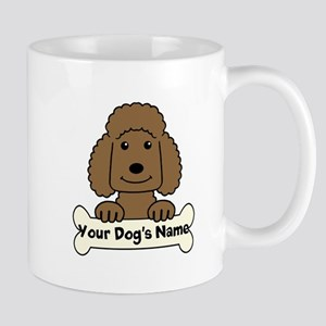 Personalized Poodle 11 oz Ceramic Mug